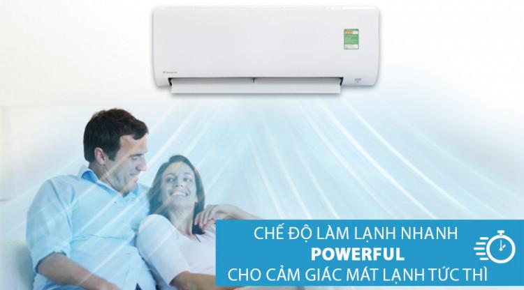 Poweful - Máy lạnh Daikin 1 HP FTC25NV1V