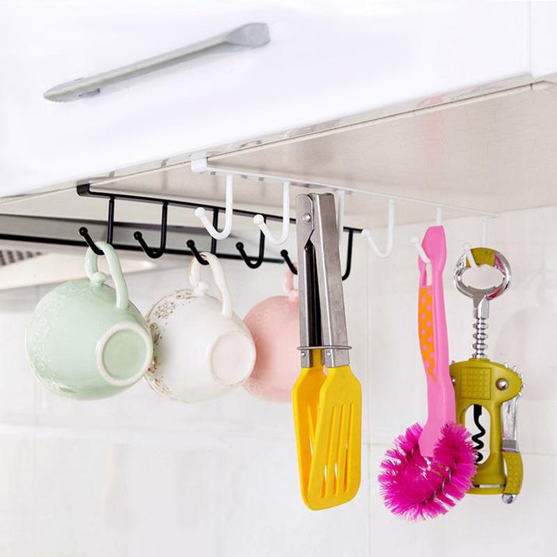 Giá Móc Kẹp Tủ Bếp Treo Dụng Cụ Nhà Bếp Đa Năng