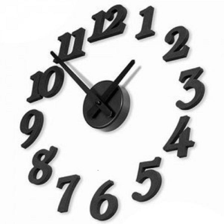 Đồng hồ trang trí dán tường (DIY CLOCK)
