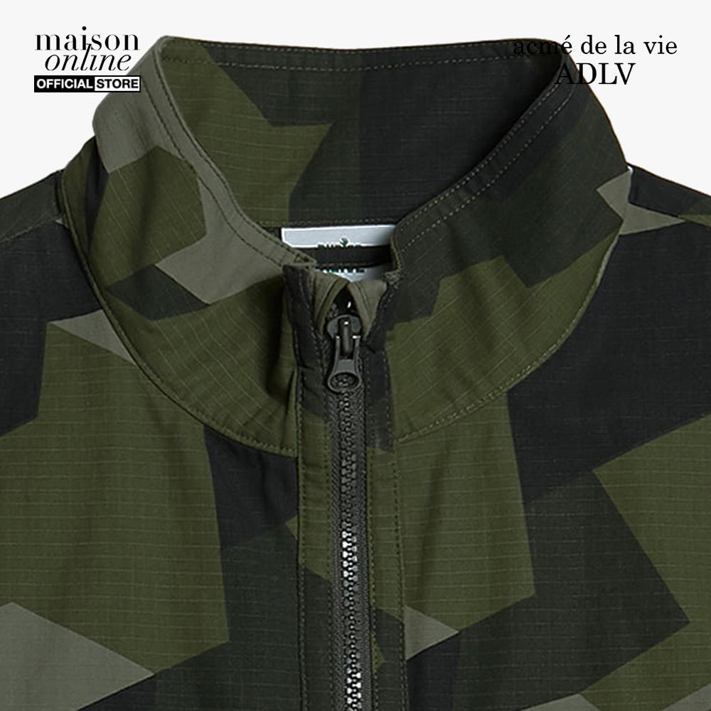 ADLV - Áo khoác sát nách phối zip BA x ADLV Outpocket Vest Indigo ADLV-20FW-VTBAOP-CFG