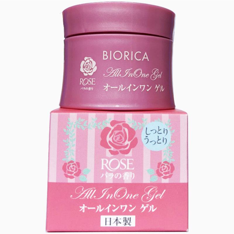 Kem Dưỡng Da Đa Chức Năng Chiết Xuât Hoa Hồng Biorica Rose Cao Cấp Nhật Bản (40g)