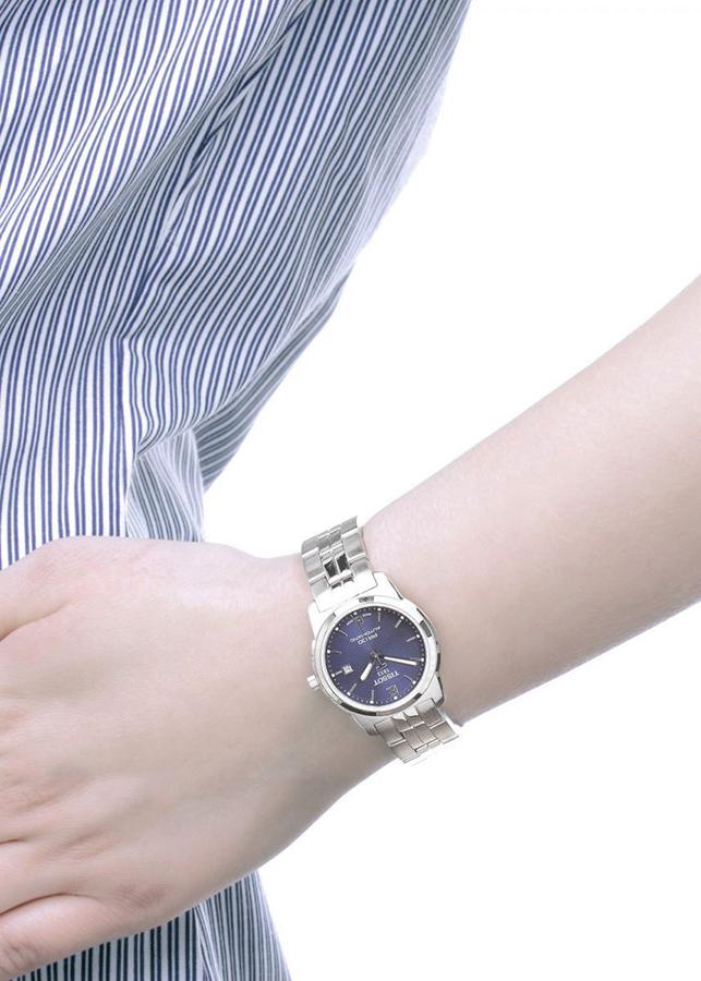 Đồng Hồ Nữ Dây Titanium Tissot T049.310.44.041.00 (28mm) - Mặt Xanh