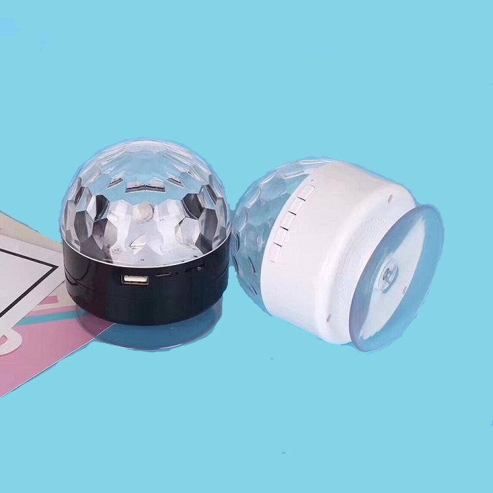 Loa Bluetooth AQ9 GTS kiêm đèn vũ trường  (màu ngẫu nhiên )