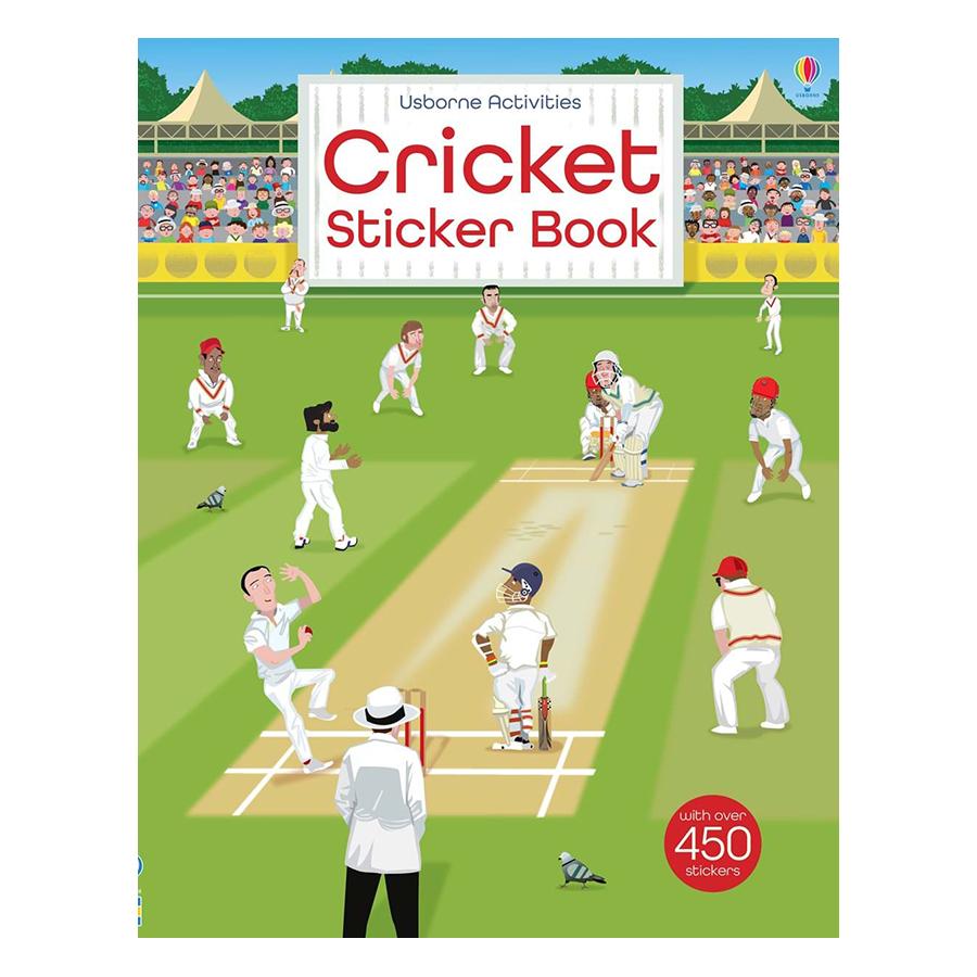 Usborne Cricket Sticker Book