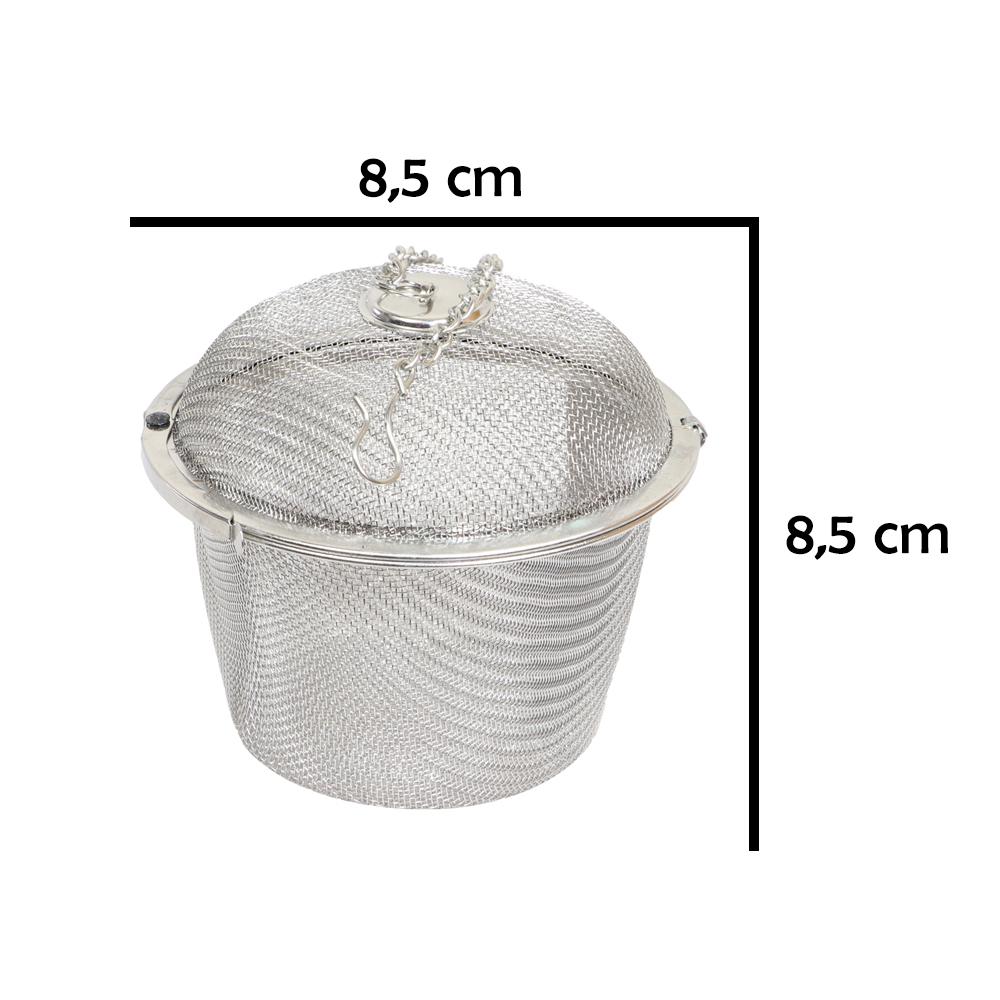 Dụng cụ lọc trà và gia vị inox LT01 kích thước lớn