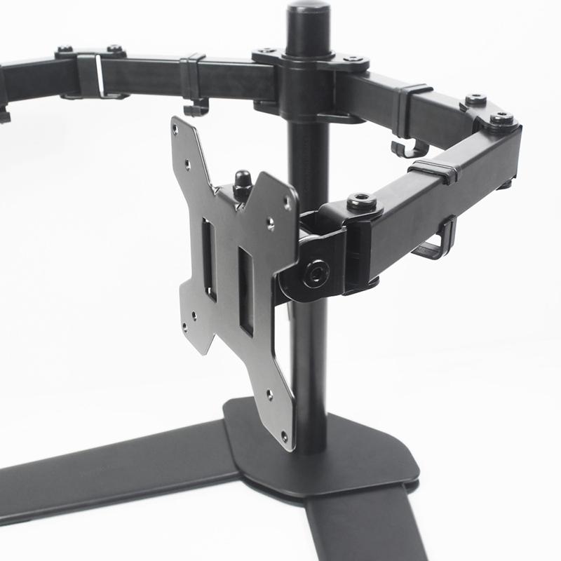 Kệ để bàn 2 màn hình 15-27 inch xoay 360 độ tải trọng lớn M042