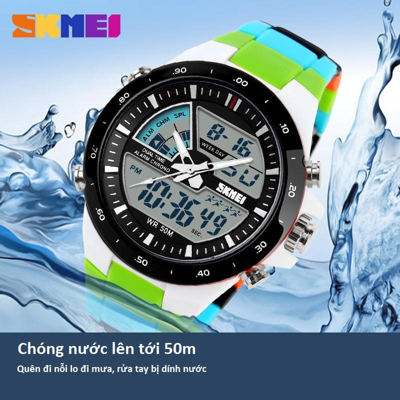 Đồng Hồ Thể Thao Nam SKMEI 1016 Phiên Bản Sport Chống Nước 50m, Phong Cách Cực Chất