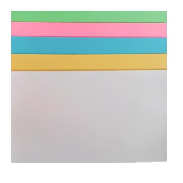 Giấy bìa A4 trộn 5 màu (100 tờ/xấp)