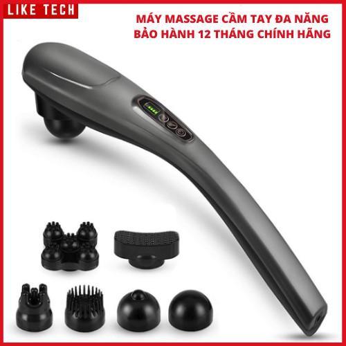 Máy Massage Cầm Tay Đa Năng Cao Cấp LIKETECH  Mát Xa Chuyên Sâu Cho Cổ, Vai Gáy, Bụng, Lưng, Cánh Tay, Chân Làm Quà Tặng