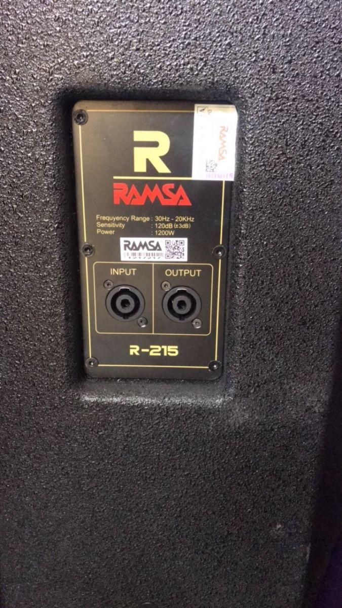 LOA RAMSA R215 - HÀNG CHÍNH HÃNG