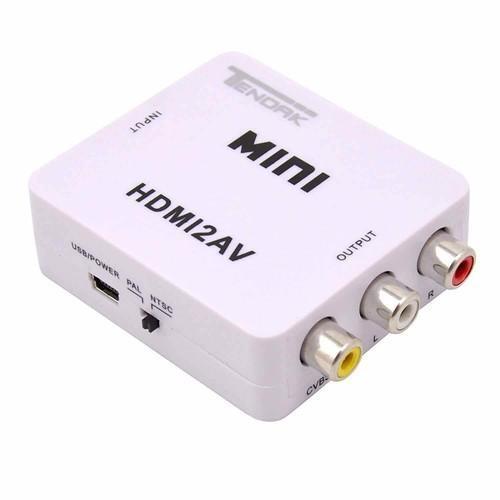 ️ Đầu chuyển hdmi,Chuyển đổi HDMI sang 2 AV