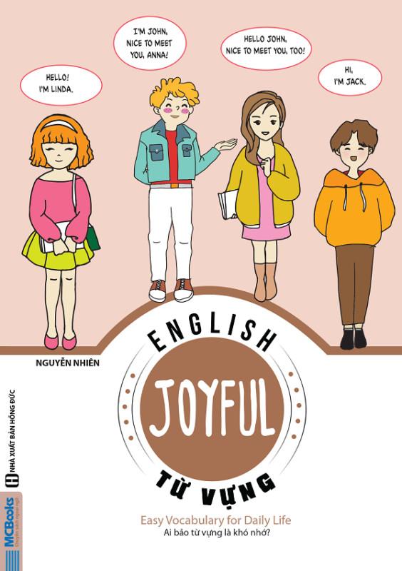 Combo 2 cuốn JOYFUL ENGLISH - Từ vựng và Giao tiếp tiếng Anh (tặng sổ tay từ vựng)