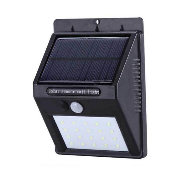 Đèn cảm biến hồng ngoại sử dụng năng lượng mặt trời
