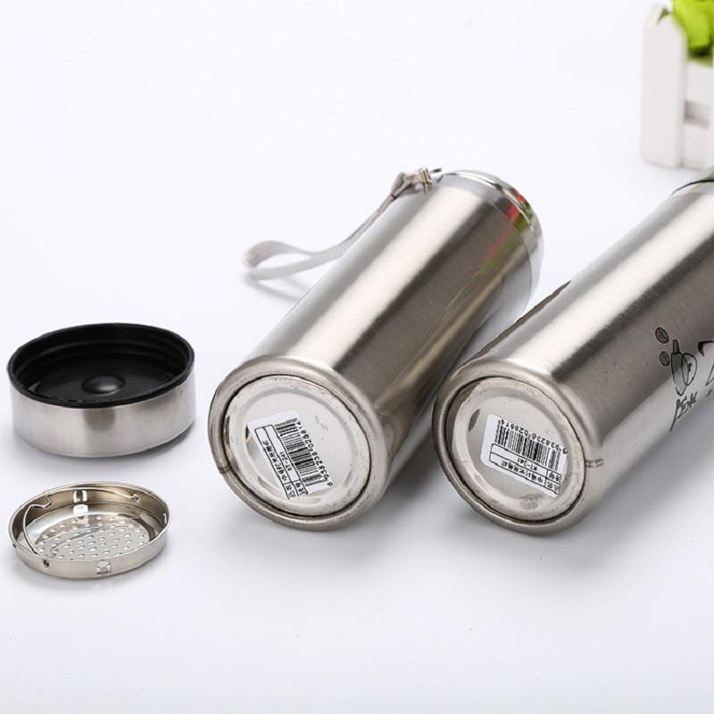 Cốc giữ nhiệt Inox 2 lớp CI-2360, Bình nước giữ nhiệt, Ly giữ nhiệt có quai xách