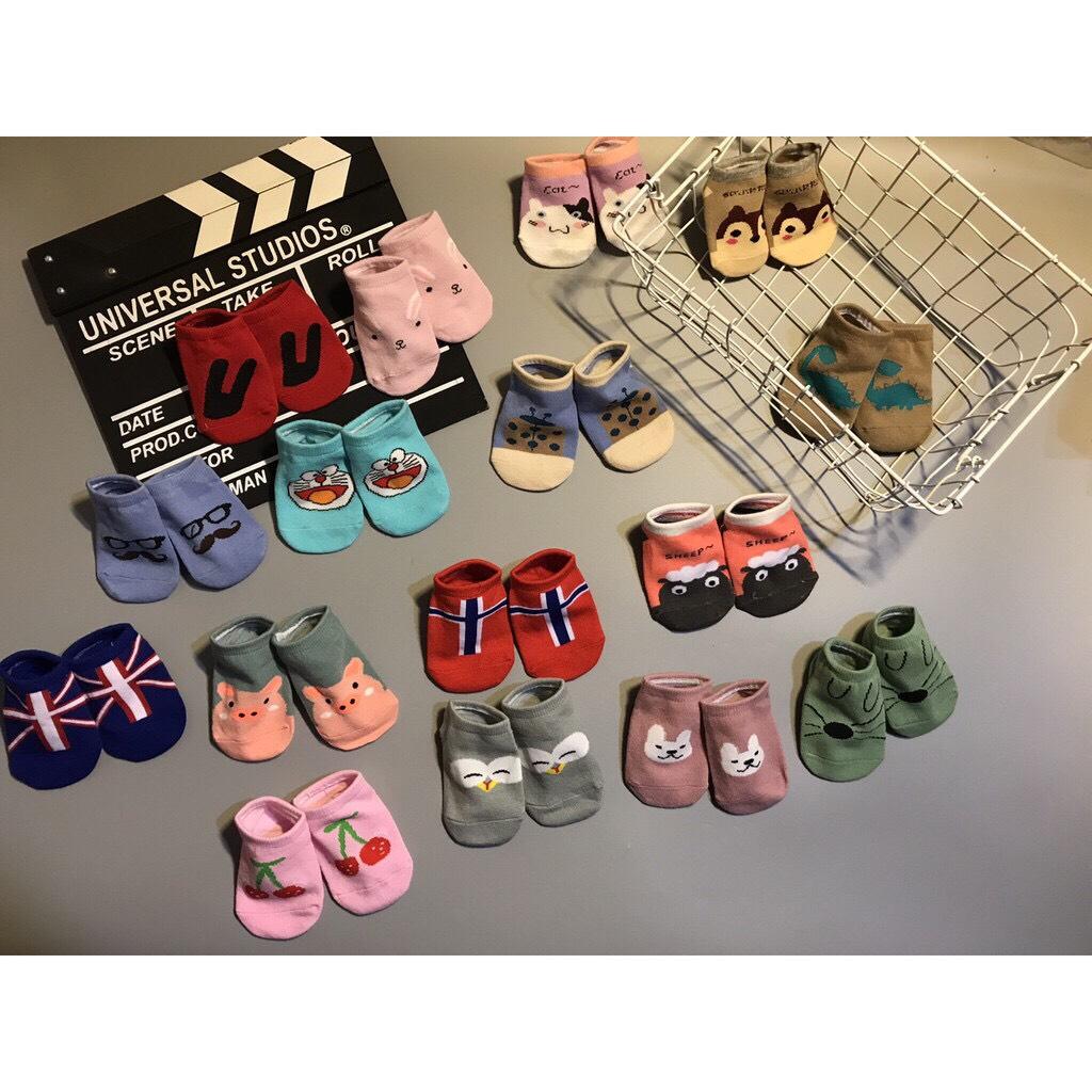 combo 10 đôi tất len xuất Hàn cho bé sơ sinh