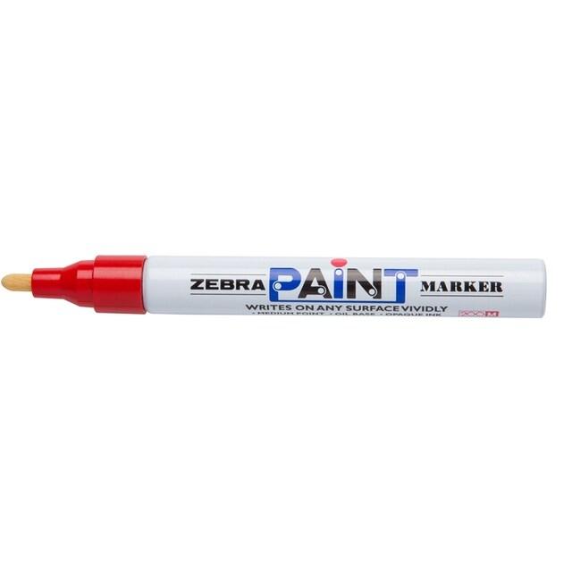 Bút Sơn Zebra MOP-120 - Màu Đỏ