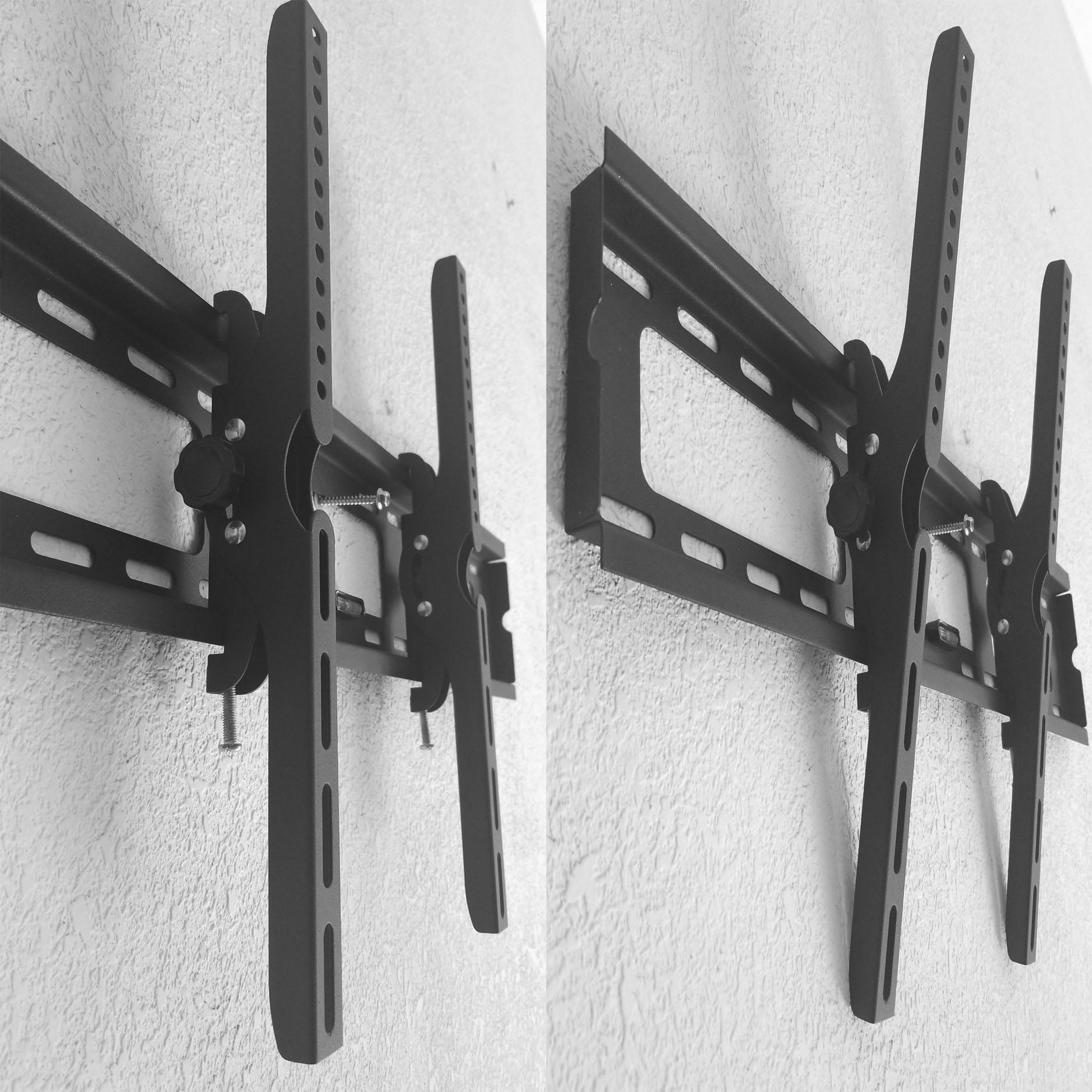 Khung Treo Tivi Cố Định-Nghiêng 2 in1 Cao Cấp cho tivi từ 40-80 inchs