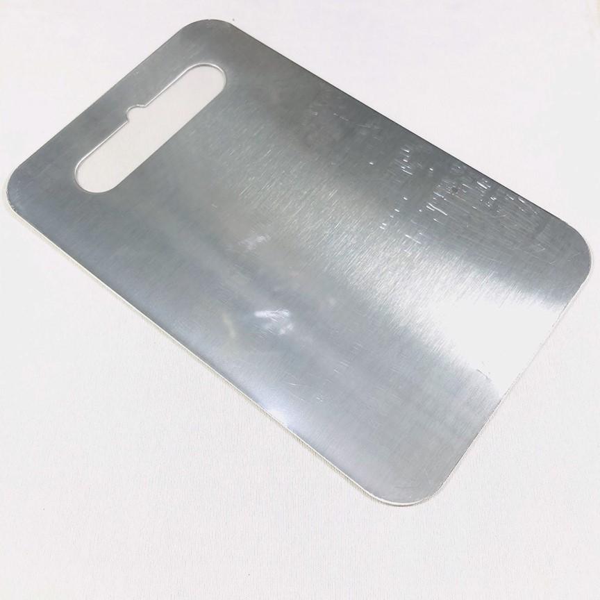 Thớt Inox kháng khuẩn 24x15cm SUS 304