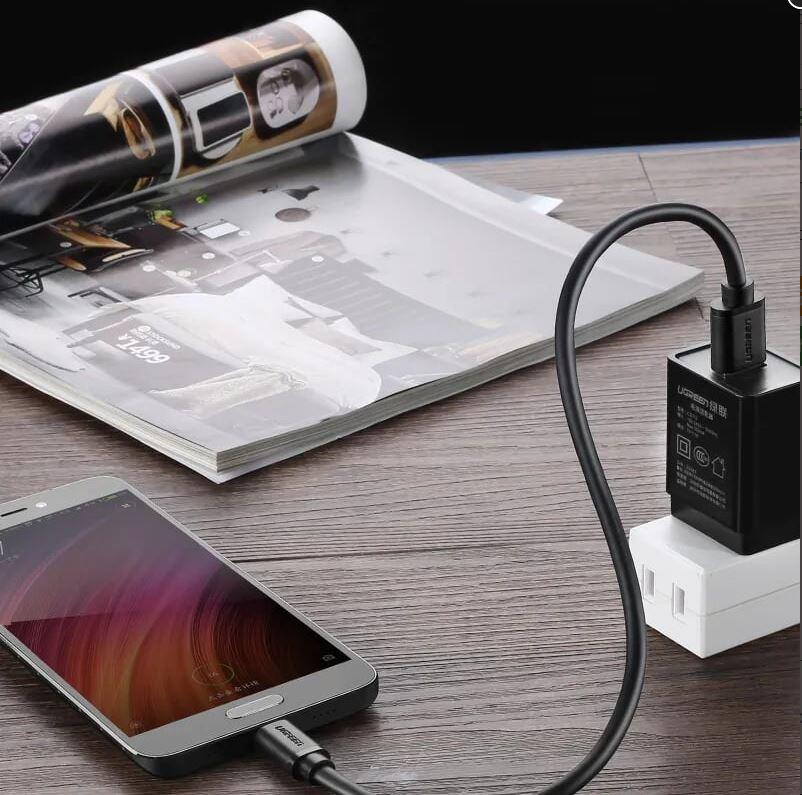 Cáp USB Type C to USB 3.0 Ugreen 20884 dài 2m chính hãng