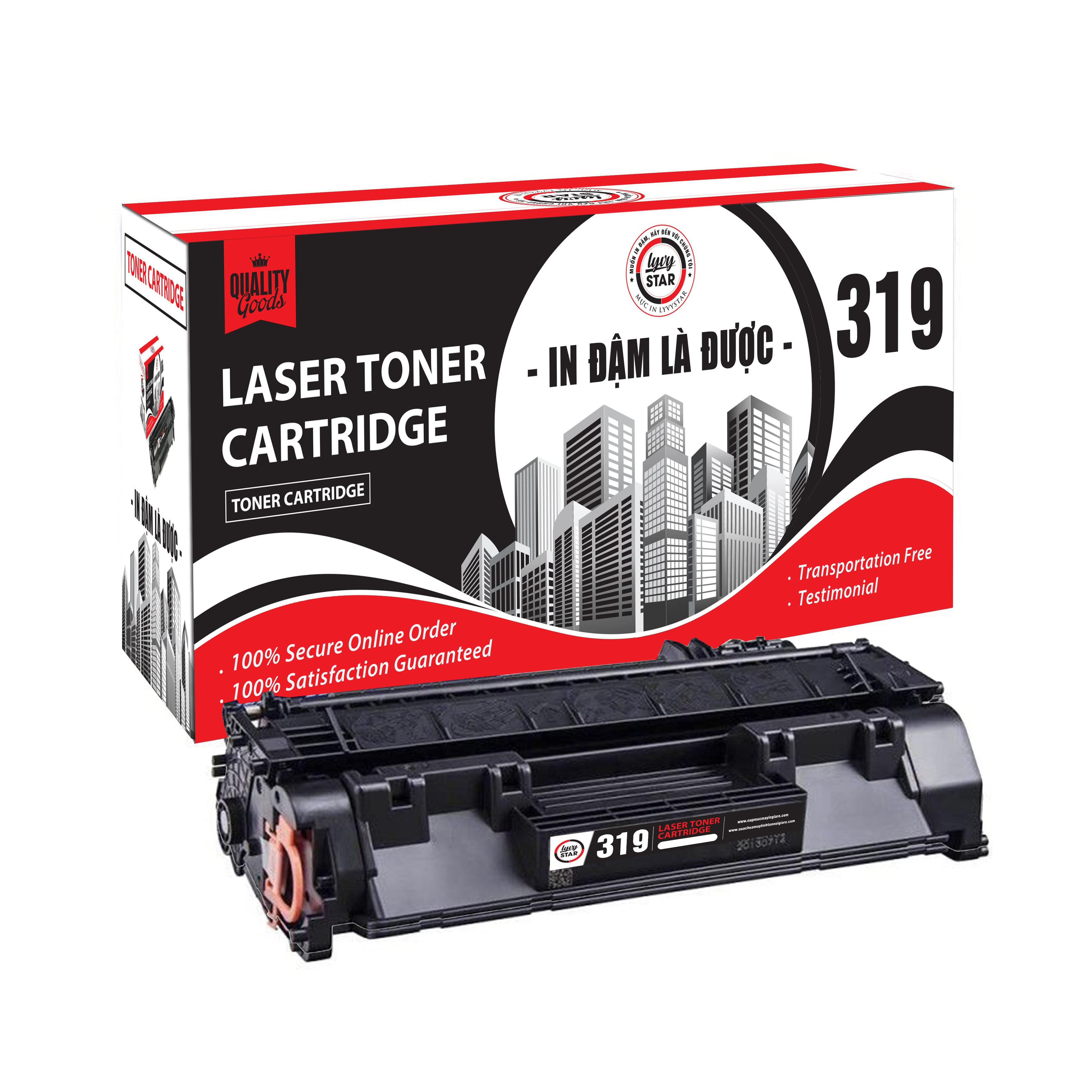 Mực in Lyvystar Laser 319 dùng cho máy in Canon - Hàng Chính Hãng