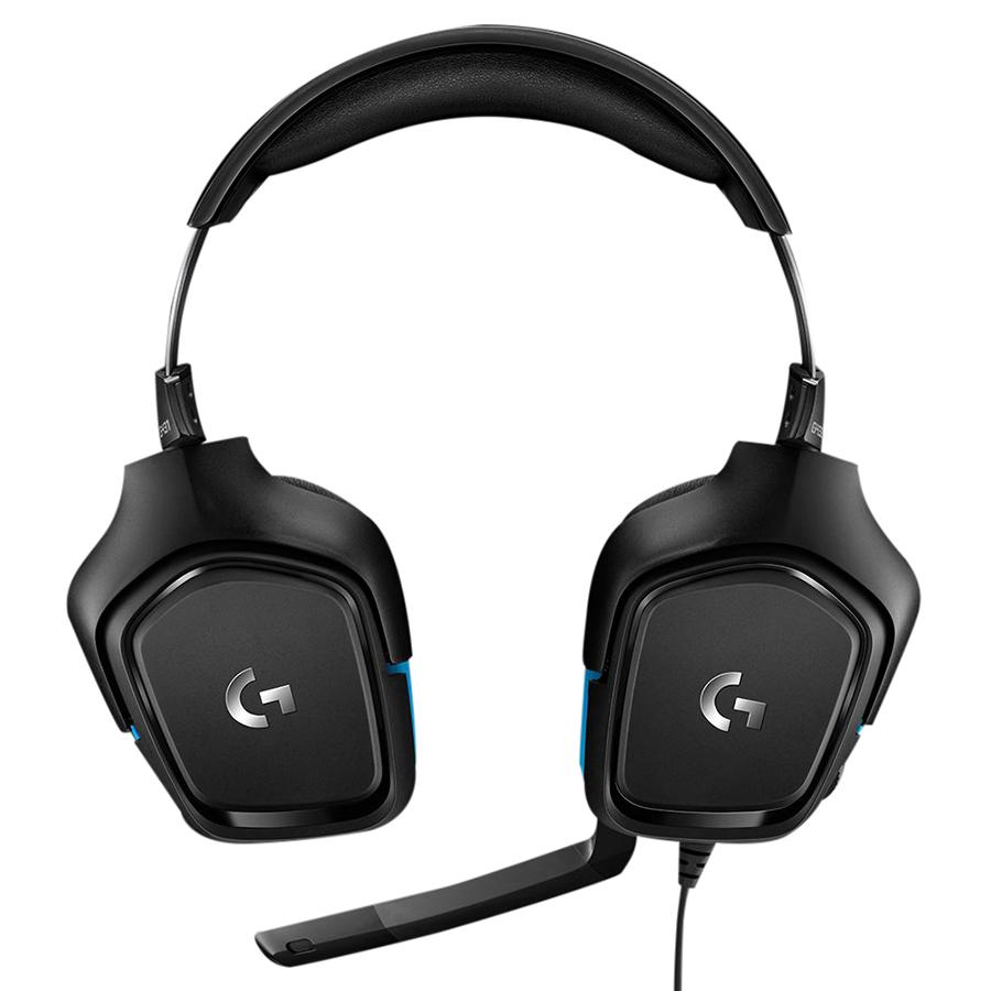 Tai Nghe Có Dây Chụp Tai Over-ear Logitech G431 7.1 Surround Gaming - Hàng Chính Hãng