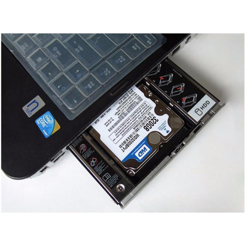 Khay Caddy Bay Đựng HDD, SSD 9.5mm - Phụ Kiện Cho Laptop