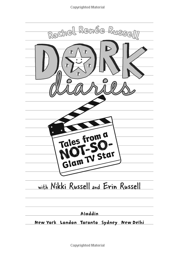 Dork Diaries 7 - Tales from a Not-So-Glam TV Star (Hardcover)