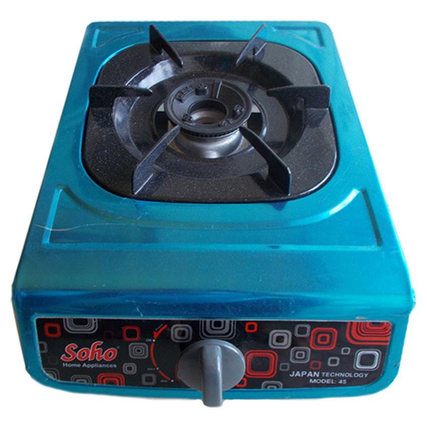 Bếp gas đơn mặt inox Soho 4S - Hàng chính hãng