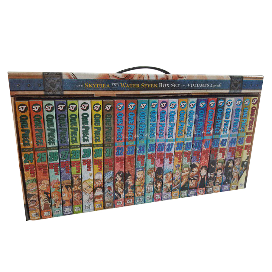 One Piece Box Set 2: Skypeia And Water Seven, Volumes 24-46 With Premium - Tiếng Anh