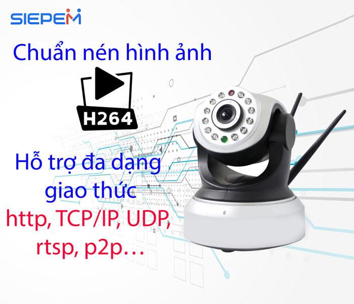 Camera Ip Siepem 6203 Pro - Hàng Chính Hãng