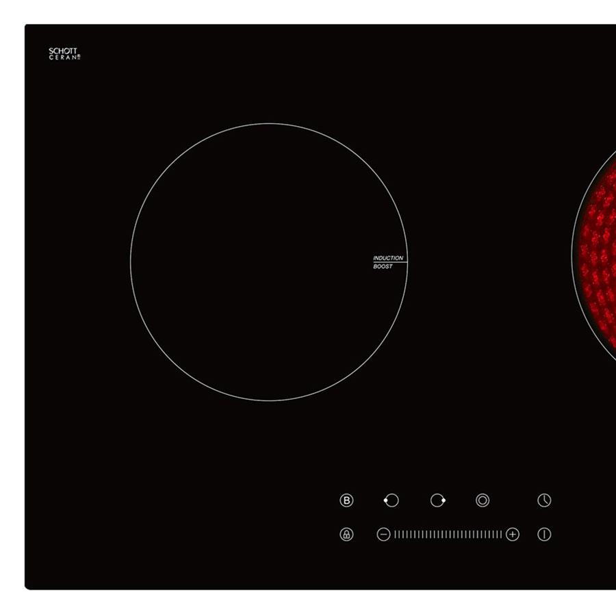 Bếp Âm Đôi Từ - Hồng Ngoại Ferroli IC4200BN (74 cm) - Hàng Chính Hãng