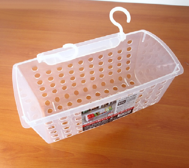 Giỏ Nhựa Có Móc Treo Tiện Tích Nhật Bản