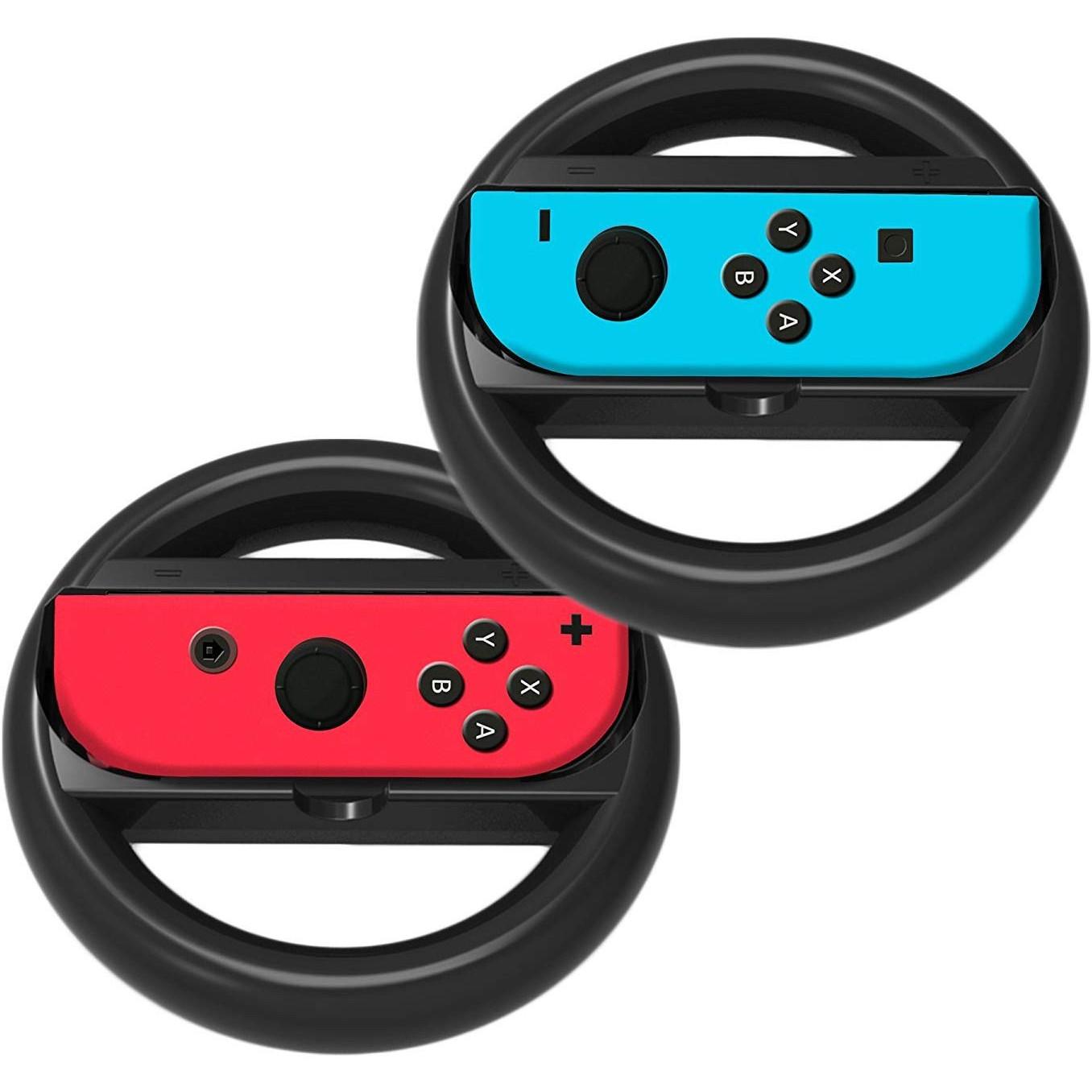 Bộ vô lăng đua xe cho Joycon máy Switch mẫu 2