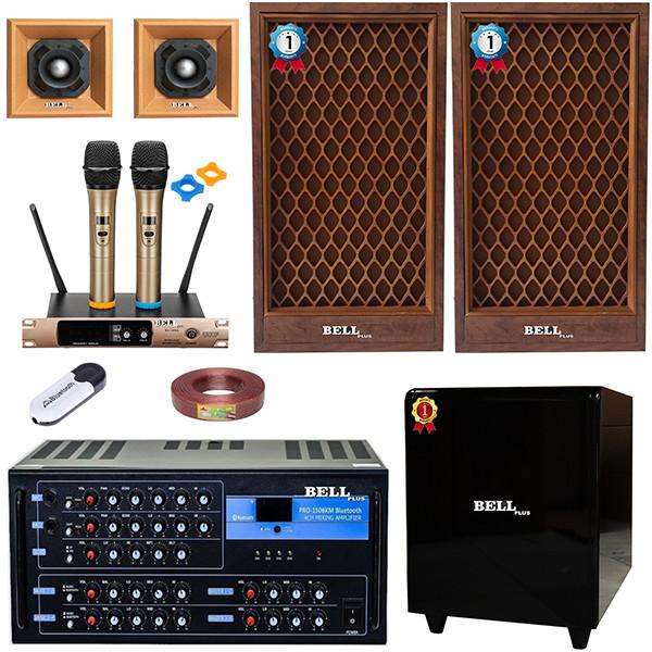 Bộ dàn nhạc karaoke gia đình - 702 BellPlus (hàng chính hãng)