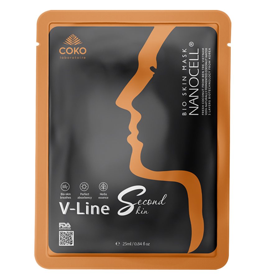 Mask Sinh Học Coko Nacocell UV, Vline, Detox ( 3mask)
