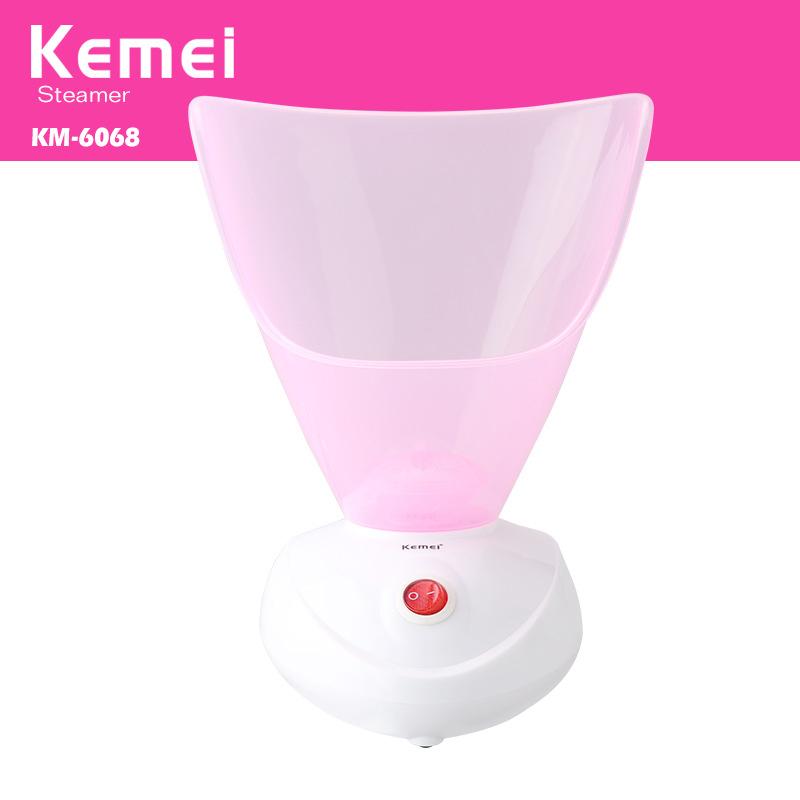 Máy xông mặt thảo dược KEMEI 6068 có ống xong mũi