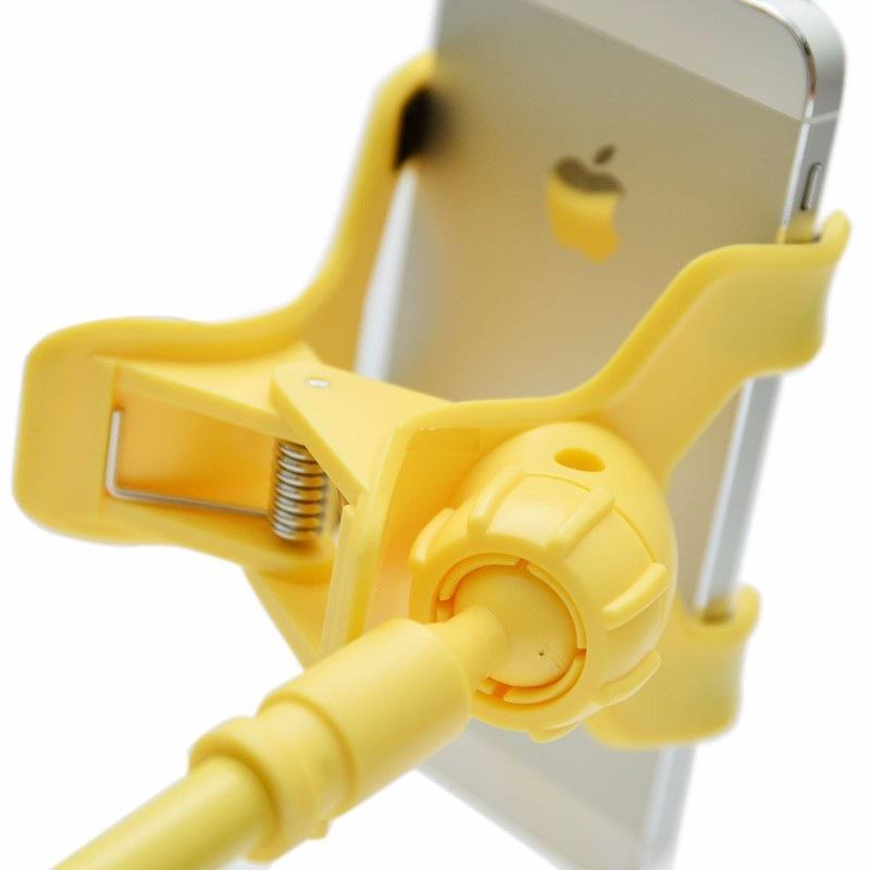 Gía đỡ đế Kẹp điện thoại đuôi khỉ sắt đa năng bán với giá gốc PKCB PF126