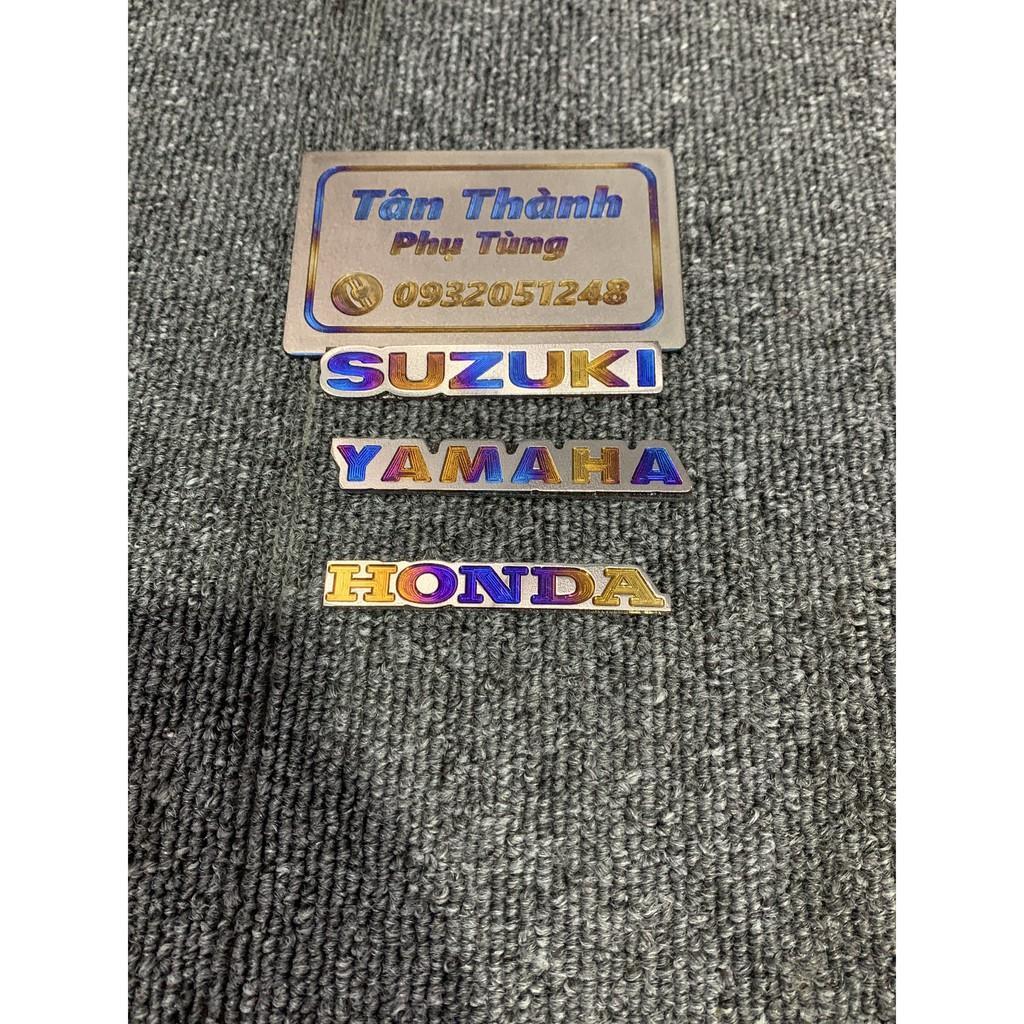 Logo Titan HONDA, YAMAHA, SUZUKI nhỏ