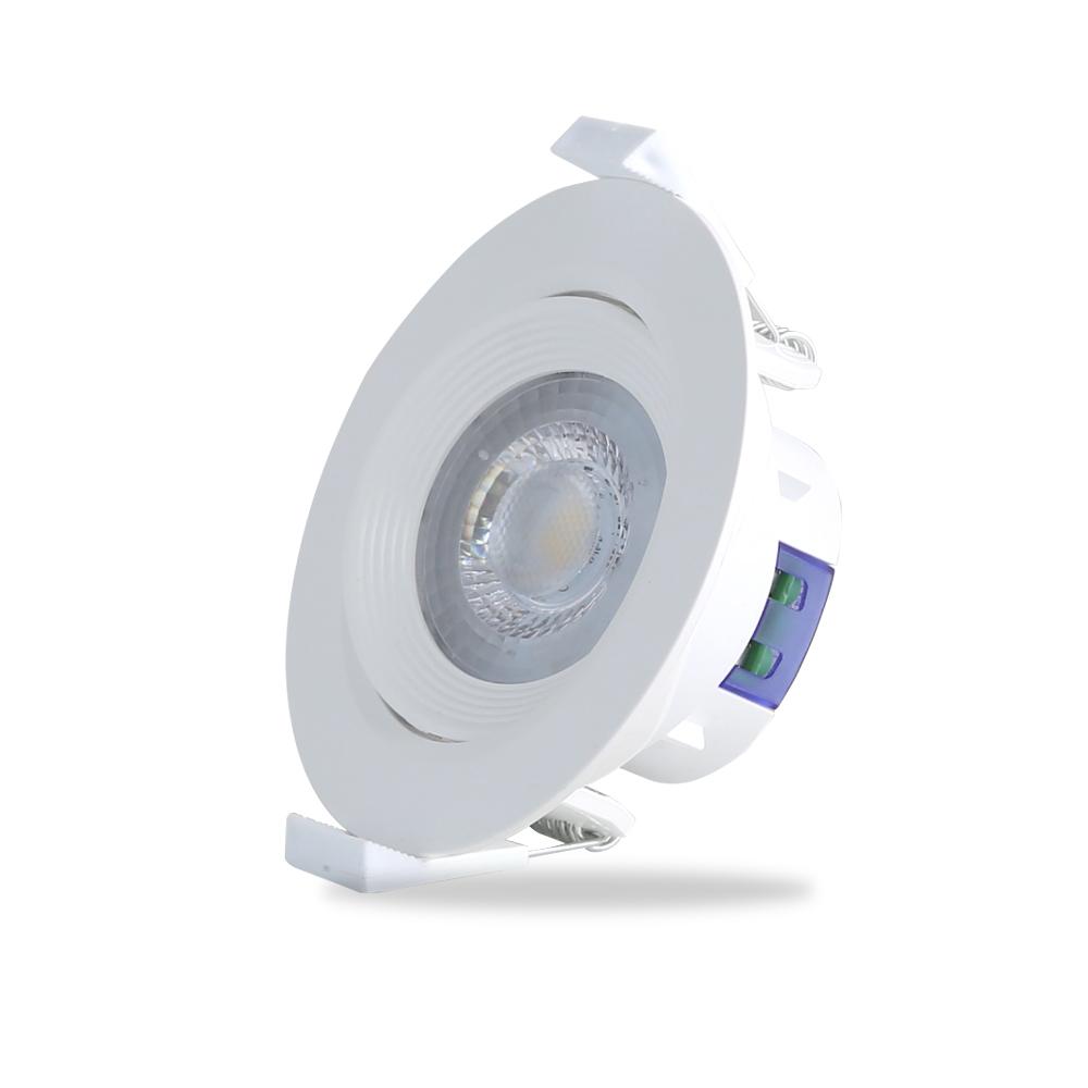 Đèn LED âm trần xoay góc Rạng Đông model D AT02L XG 76