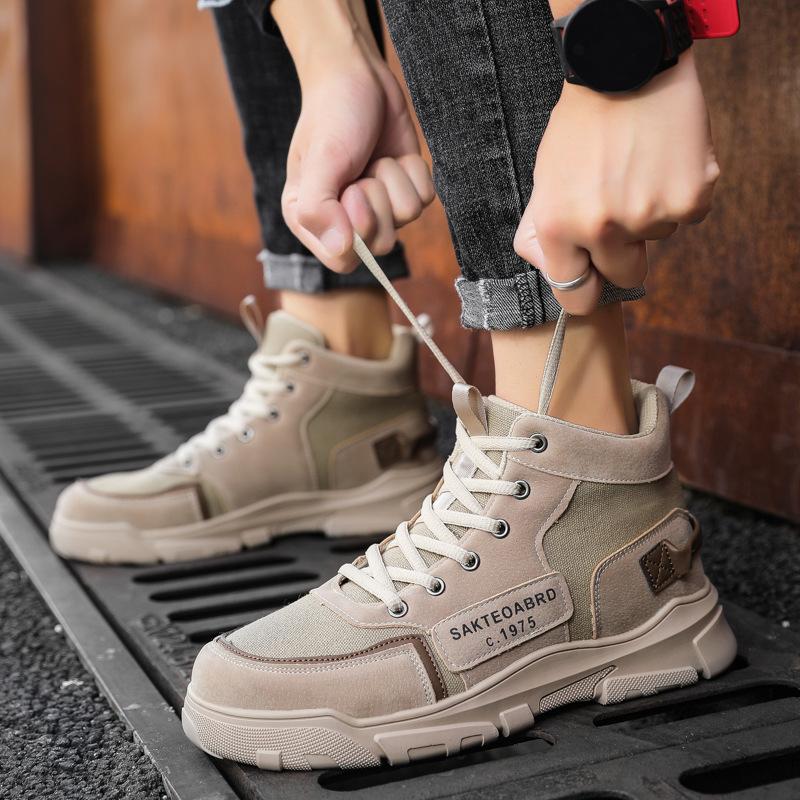 Giày Bốt Nam Cổ Cao Phong Cách Mới MSP 9036