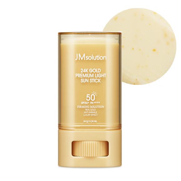 Thỏi Chống Nắng Kiềm Dầu, Giúp Da Chắc Khỏe Chứa Chiết Xuất Từ Vàng 24k Jmsolution 24K Gold Premium Light Sun Stick 20g