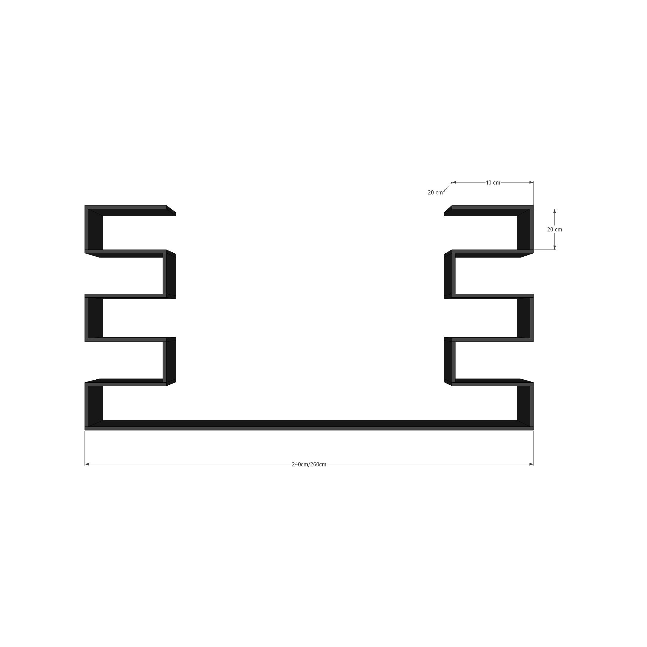 Kệ Để Chai Vang Treo Tường 2 Tầng SIB Decor Với 11 Ngăn Đựng Chai Để Nằm Và Giá Treo Ly Inox 304 Cao Cấp Cho Phòng Khách, Phòng Ăn