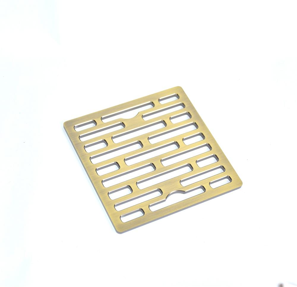 Thoát sàn Chống mùi hôi mạ vàng đồng Hiwin cao cấp FD-1408G