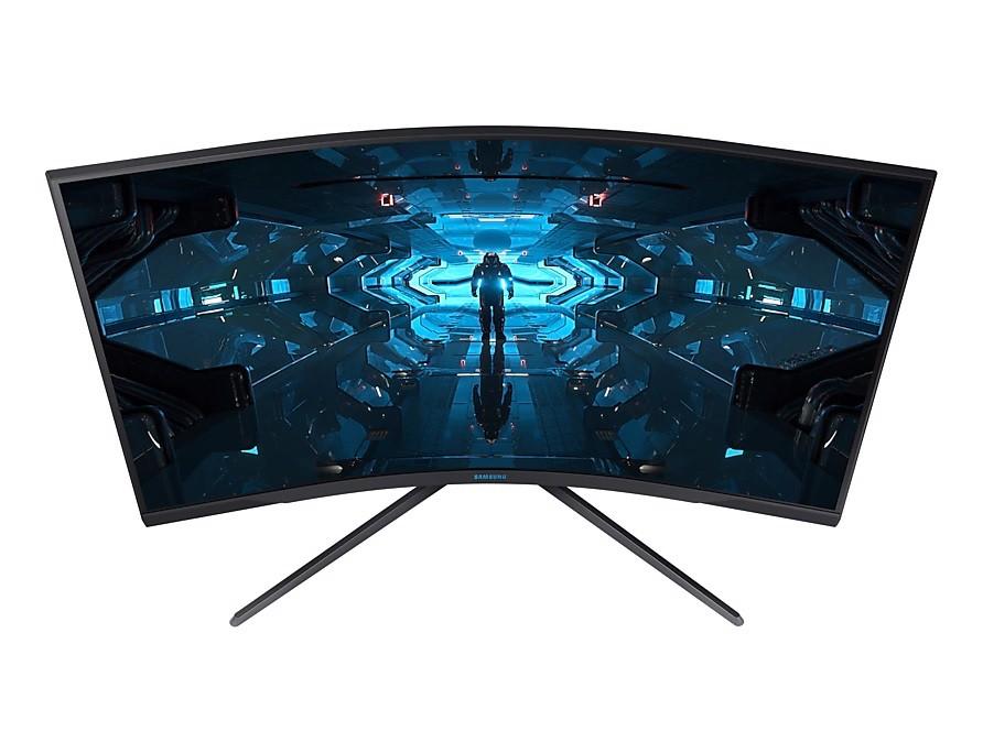 Màn hình cong Samsung LC32G75TQSEXXV 32″ QHD 240Hz 1ms GTG G-sync - Hàng Chính Hãng