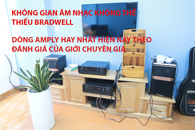 Amply karaoke Bradwell BR380 Hàng Chính Hãng