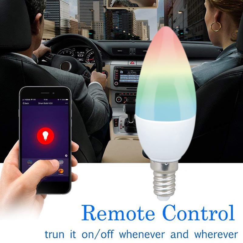 Đèn Led Siêu Sáng Điều Kiển Wifi RGBW Cho Amazon Alexa
