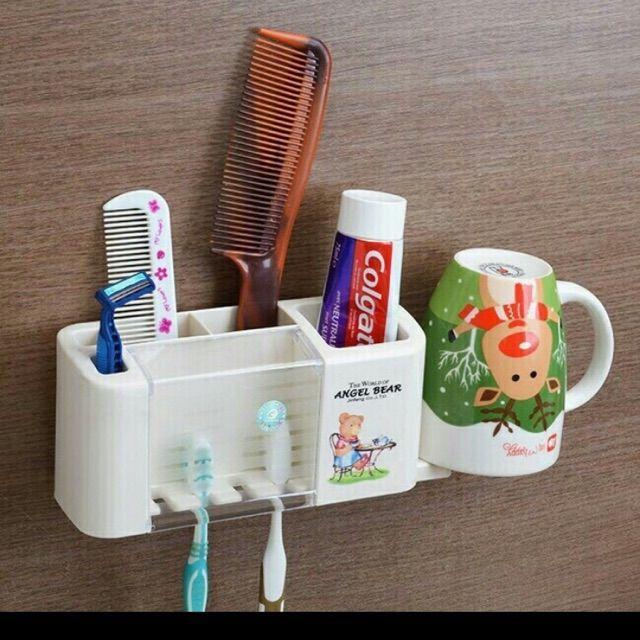 Hộp Cắm bàn chải kem đánh răng đa năng 2109