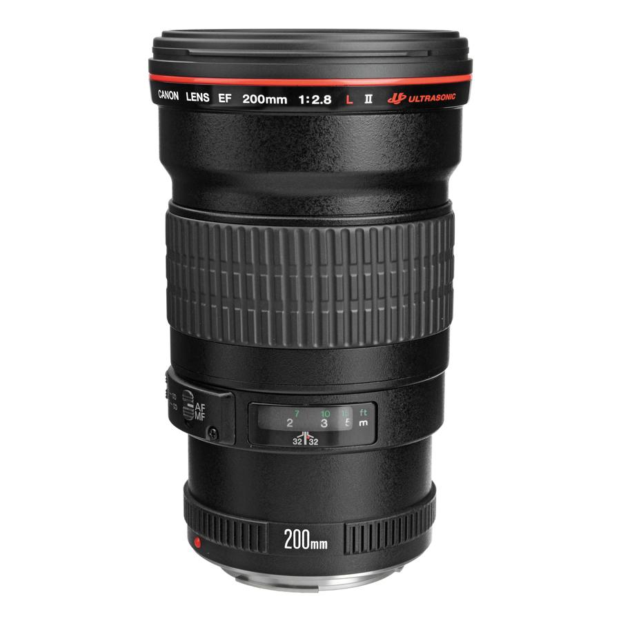 Lens Canon EF 200mm f/2.8 L USM II - Hàng chính hãng