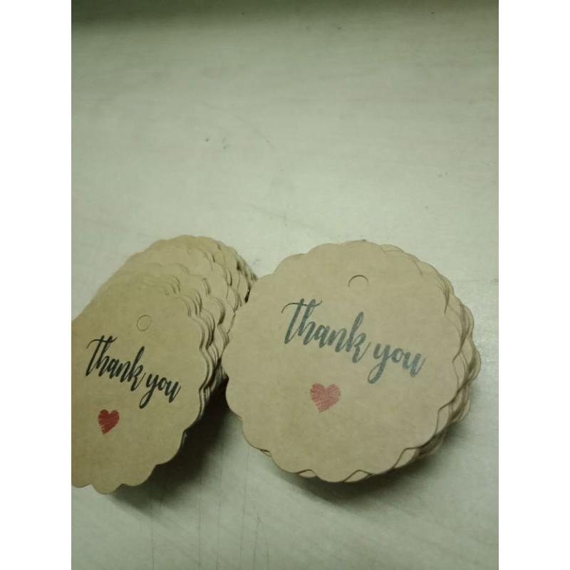100 tag  treo handmade