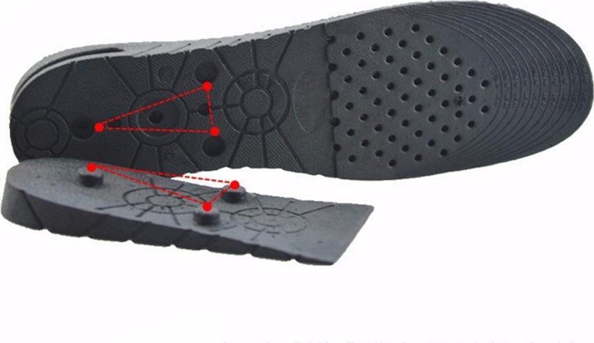 Lót giày tăng chiều cao nguyên bàn 3 lớp 7 cm có lớp đệm khí